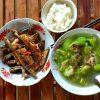 Bữa ăn tại Cao Bằng